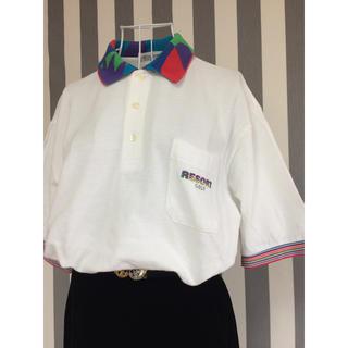 ビンテージ ポロシャツ オーバーサイズ(ポロシャツ)