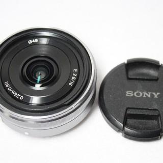 ソニー(SONY)のソニー 単焦点レンズ16mm 2.8(レンズ(単焦点))