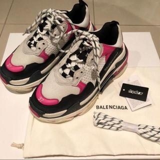 バレンシアガ(Balenciaga)の新品未使用 BALENCIAGA triple s サイズ37(スニーカー)