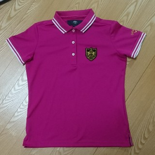 キャロウェイ(Callaway)の未使用キャロウェイポロシャツ赤紫M(ポロシャツ)