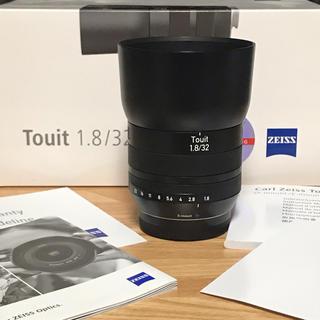 フジフイルム(富士フイルム)のCARL ZEISS Touit 32mm/f1.8 X-mount(レンズ(単焦点))