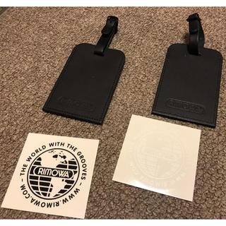 リモワ(RIMOWA)のRIMOWA★タグ&ステッカー(トラベルバッグ/スーツケース)