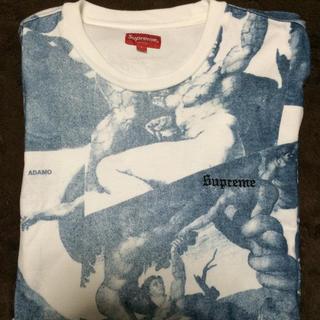 シュプリーム(Supreme)のL michelangelo L/S top supreme blue(Tシャツ/カットソー(七分/長袖))