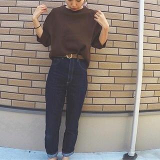 ジーユー(GU)のGU ワッフルラグランスリーブT(カットソー(長袖/七分))