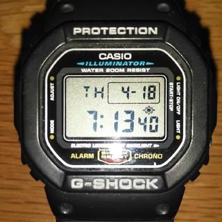 ジーショック(G-SHOCK)のCASIO G-SHOCK DW-5600-1(腕時計(デジタル))