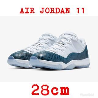 "cdd7dd06660 ナイキ(NIKE)のNIKE Air Jordan 11 Low ""Snakeskin"" 28cm(スニーカー"
