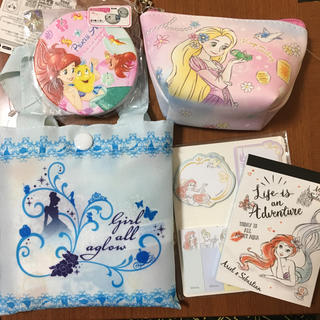 ディズニー(Disney)のディズニー プリンセス セット(ノート/メモ帳/ふせん)
