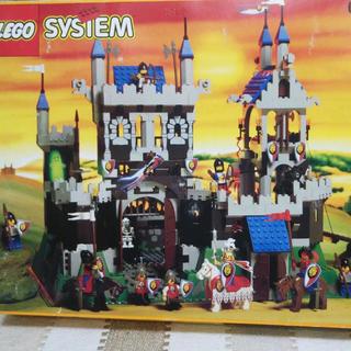 レゴ(Lego)のレゴ ロイヤルキング城 6090 箱、説明書あり (知育玩具)