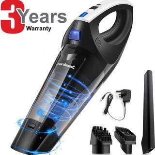 【新品】掃除機 ハンディクリーナー 静音操作 多機能 充電式コードレス(掃除機)