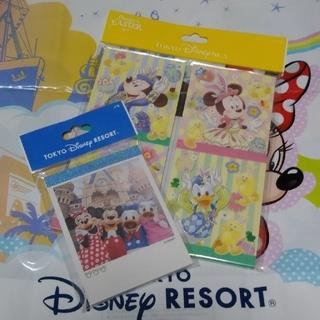 ディズニー(Disney)の** ディズニー 実写 イースター 2019 35周年チケット風 メモ **(ノート/メモ帳/ふせん)