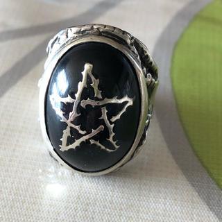 アレックスストリーター エンジェルハートリング ALEX STREETER 黒(リング(指輪))