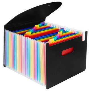 ドキュメントスタンド 収納ファイル 25ポケット ボックスA4サイズ (ファイル/バインダー)