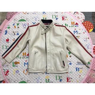 ショット(schott)の【大幅値下げ】Schott レザージャケット 子どもサイズ 110(ジャケット/上着)