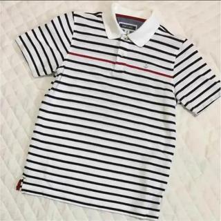 【1回着用】PORTLAND ボーダーポロシャツ サイズ2(ポロシャツ)