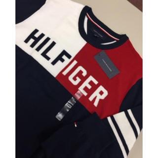 トミーヒルフィガー(TOMMY HILFIGER)の新品 トミーヒルフィガーコットンセーターL(ニット/セーター)