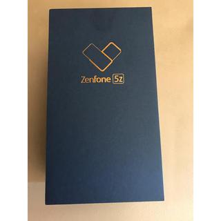 アンドロイド(ANDROID)の新品 未開封 未使用 ASUS Zenfone5z シルバー(スマートフォン本体)