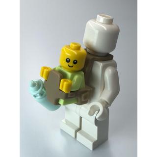 レゴ(Lego)の【新品】LEGO 青赤ちゃん1体+哺乳瓶1本(知育玩具)