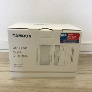 タムロン A036 28-75mm F/2.8 Di III RXD 新品(レンズ(ズーム))