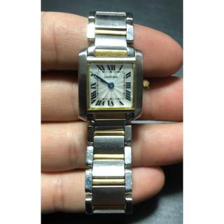 カルティエ(Cartier)の稼働中 カルティエ タンクフランセーズ 中古 アンティーク(腕時計)