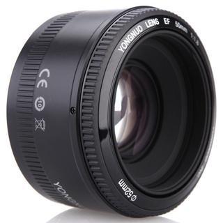 フルサイズ対応❤️新品 Canon用 50mm/F1.8 単焦点レンズ ♪(レンズ(単焦点))