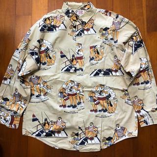 """キャプテンサンタ(CAPTAIN SANTA)の""""CAPTAIN SANTA """" BDシャツ size LARGE !(シャツ)"""