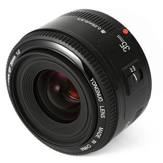 フルサイズ対応❤️新品 Canon用 35mm/F2 単焦点レンズ ♪(レンズ(単焦点))