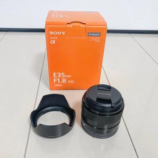 ソニー(SONY)のE 35mm F1.8 (α Eマウント)(レンズ(単焦点))