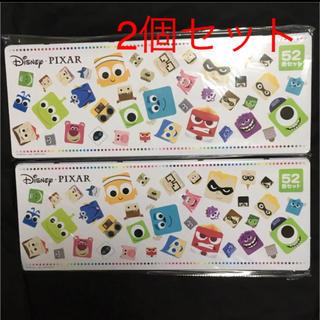 ディズニー(Disney)のディズニー ピクサー キャラクターズ 色鉛筆 52色セット 2個 新品未開封(色鉛筆 )
