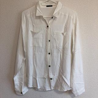 シマムラ(しまむら)のしまむら 白シャツ(シャツ/ブラウス(長袖/七分))