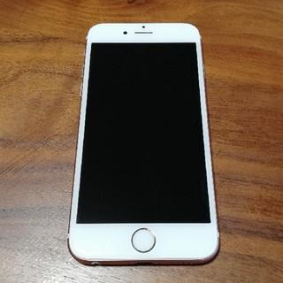 アイフォーン(iPhone)のiPhone6s 128gb SIMフリー ローズピンク(スマートフォン本体)