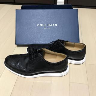 コールハーン(Cole Haan)の☆美品 コールハーン ルナグランド 26.5センチ 黒✖︎白☆(ドレス/ビジネス)