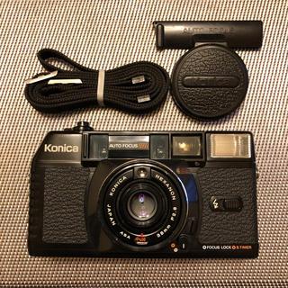 コニカミノルタ(KONICA MINOLTA)のKonica C35 MF  コニカ ジャスピンスーパー (フィルムカメラ)