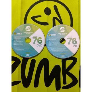 ズンバ(Zumba)のZUMBA ズンバ ZIN76 CD&DVD インストラクター専用(スポーツ/フィットネス)