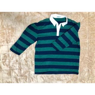 ウィゴー(WEGO)のボーダーポロシャツ(ポロシャツ)