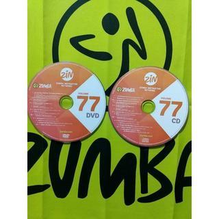 ズンバ(Zumba)のZUMBA ズンバ ZIN77 CD&DVD インストラクター専用(スポーツ/フィットネス)