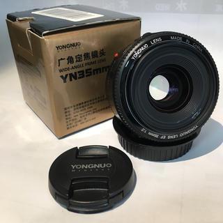 キヤノン(Canon)の単焦点 YONGNUO EF 35mm F2 EFマウント(Canon)用です(レンズ(単焦点))