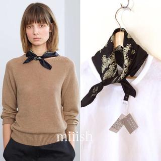 マーガレットハウエル(MARGARET HOWELL)の新品タグ付き MARGARET HOWELL シルク ペイズリー スカーフ(バンダナ/スカーフ)