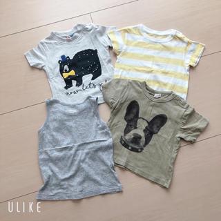マーキーズ(MARKEY'S)の80cm★Tシャツ&タンクトップ4点セット(Tシャツ)