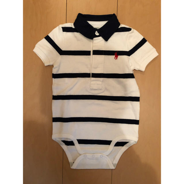 Ralph Lauren(ラルフローレン)のラルフローレン ロンパース シャツ キッズ/ベビー/マタニティのベビー服(~85cm)(ロンパース)の商品写真