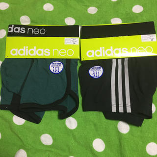アディダス(adidas)の《新品・未使用》メンズ用 adidas neo ボクサーブリーフ M 2枚セット(ボクサーパンツ)