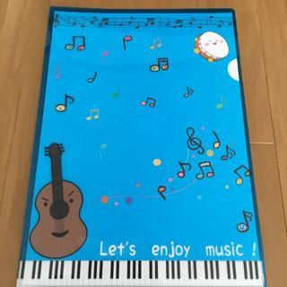 かわいい楽器キャラのクリアファイル(その他)