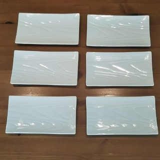 タチキチ(たち吉)の金麦 あいあい皿 6枚セット(食器)