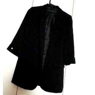 ザラ(ZARA)のZARA ロングジャケット 七分袖(テーラードジャケット)