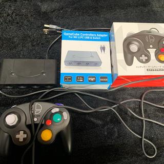ニンテンドースイッチ(Nintendo Switch)のキューブ接続タップ コントローラー&ゲームキューブコントローラー(その他)