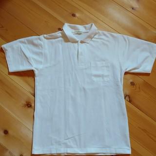 白のポロシャツ(ポロシャツ)