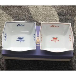 タチキチ(たち吉)のたち吉 遊楽 角皿 2枚(食器)