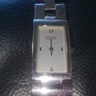 コーチ(COACH)の◎ジャンク品◎壊れた時計  COACH(腕時計)