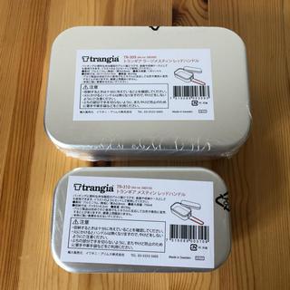 プリムス(PRIMUS)のなっと様専用☆新品☆ Trangiaメスティンセット 黒・赤(調理器具)