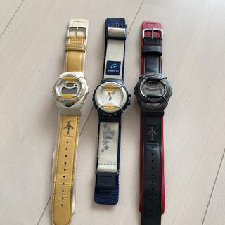 ベビージー(Baby-G)のBaby-G  3本(腕時計)
