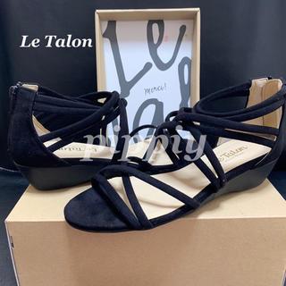 ルタロン(Le Talon)のLe  Talon ルタロン ヒールサンダル Lサイズ(サンダル)